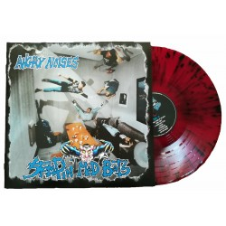 LP Vinyl splatter red/black night