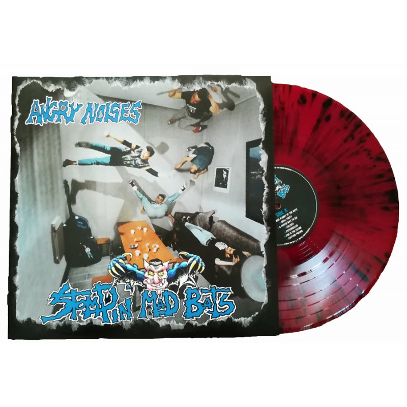 LP Vinyl splatter red/black night